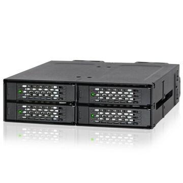 "LOGO_ICY DOCK ToughArmor MB699VP-B Quad-Bay 2.5"" NVMe U.2 SSD Full MEtal Backplane-Module"