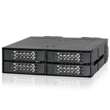 "LOGO_ICY DOCK ToughArmor MB699VP-B 4 Bay 2,5"" NVMe U.2 SSD Vollmetall Backplane-Modul"