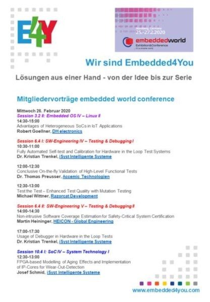 LOGO_Embedded4You e.V. - lectures by our members