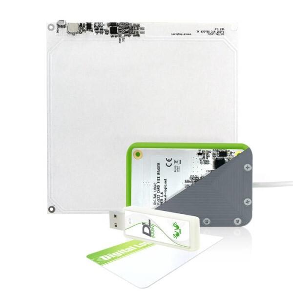 LOGO_DL533R PC/SC RFID Chipkarte Leser