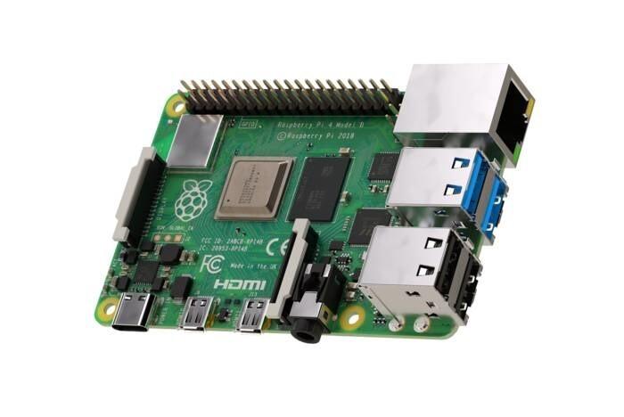 LOGO_Raspberry Pi4 4GB