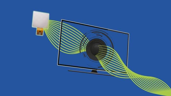 LOGO_PiezzoListen™ Lautsprecher von TDK sind nur 0,49 mm flach