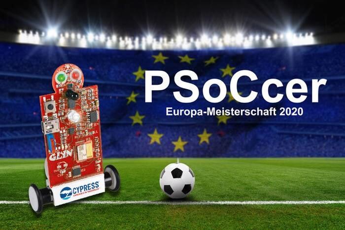 """LOGO_Training zur PSoCcer Europa-Meisterschaft 2020 – Jetzt den gratis """"12. Mann"""" am GLYN Stand abholen!"""