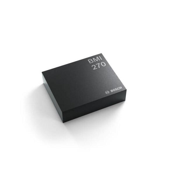 LOGO_BMI270: IMU combining accelerometer and gyroscope