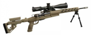LOGO_WYSSEN DEFENCE Sniper Chassissystem Set, FDE