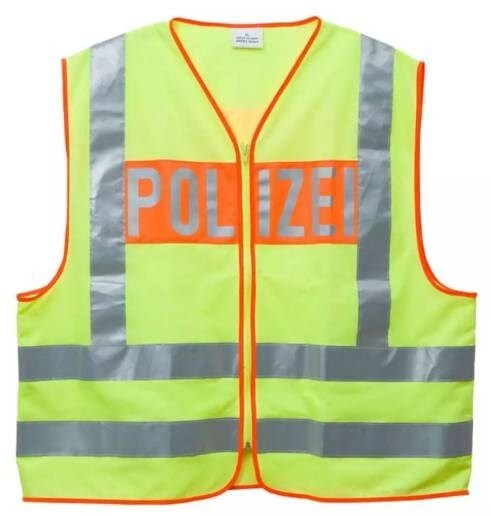 """LOGO_Warnweste inkl. Aufschrift """"POLIZEI"""""""