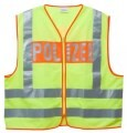 "LOGO_Warning vest incl. Inscription ""POLIZEI"""