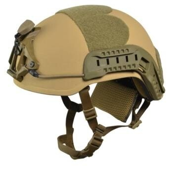 LOGO_BW-TL and VPAM certified rifle-resistant helmet, tested up to .308 & 7,62 x 36