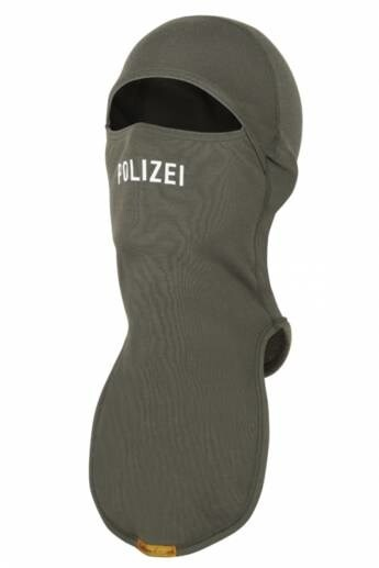 "LOGO_Flame retardant balaclava with ""Police"""