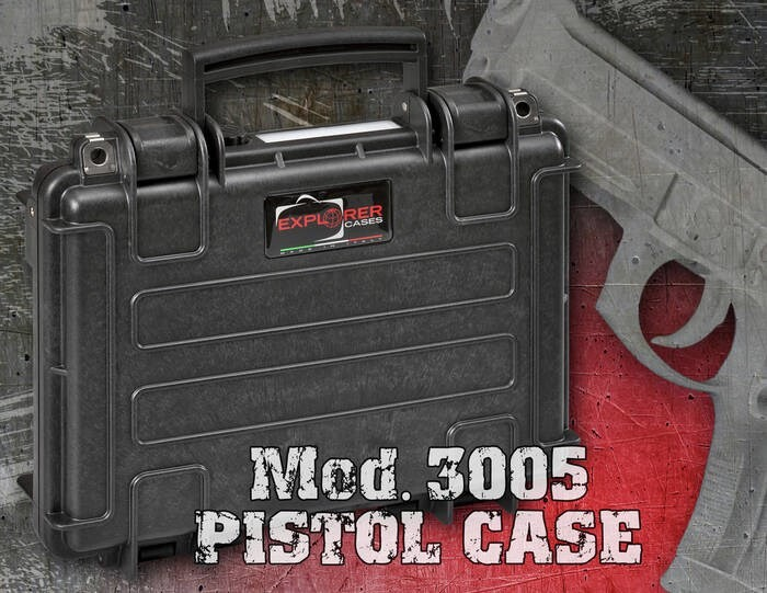 LOGO_MOD. 3005 PISTOL CASE
