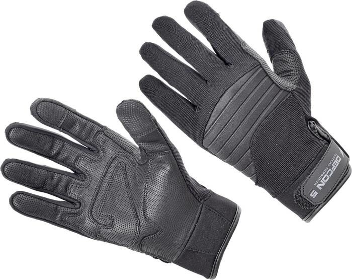 LOGO_DEFCON 5 ARMORTEX® GLOVES WITH LEATHER PALM