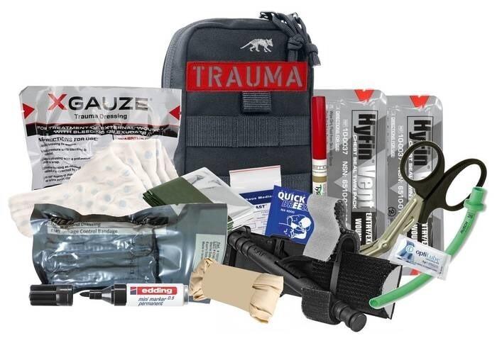 LOGO_Tasmanian Tiger® TT Tac Pouch 1 TREMA IFAK Advanced XGAUZE®