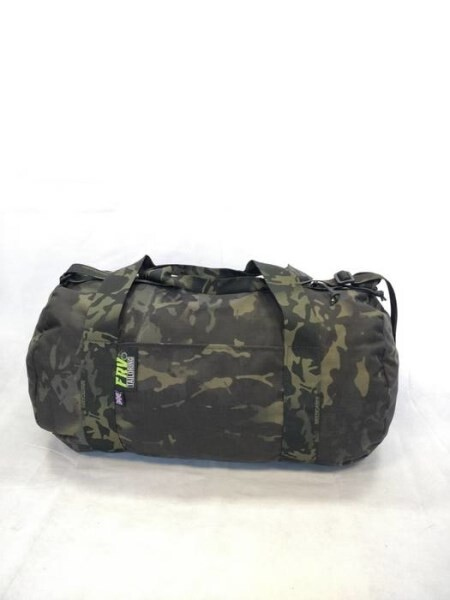 LOGO_FRV TAILORING MULTICAM BLACK DUFFEL BAG (SMALL)
