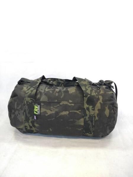 LOGO_FRV TAILORING MULTICAM BLACK DUFFEL BAG (SMALL)