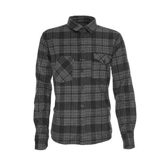 LOGO_The Flannel Grey Black