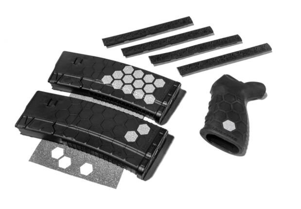 LOGO_AR-15 10rd Magazine and M-Lok Accessories Kit