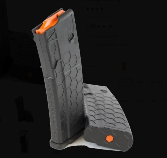 LOGO_Hexmag Series 2 AR-15 Magazine with a 30 Round Capacity