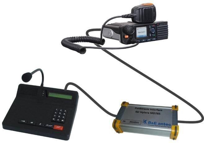LOGO_Hytera MD785 / MD655 Funktronic Interface