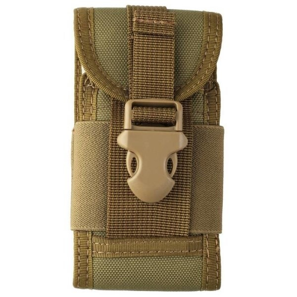 LOGO_600D Nylon Cell Phone Belt Holster / Vest Combat Army Waist Pack