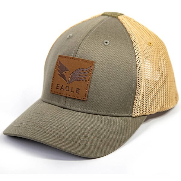 LOGO_FLEXFIT EAGLE TRUCKER CAP