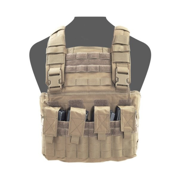 LOGO_GLADIATOR CHEST RIG – COYOTE TAN