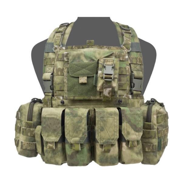 LOGO_901 ELITE OPS BRAVO M4 CHEST RIG A-TACS FG