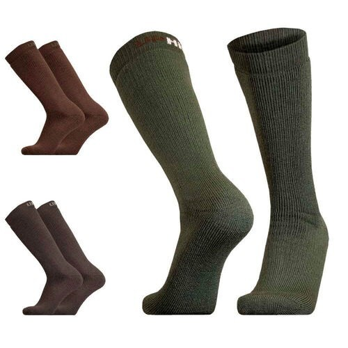 LOGO_UphillSport Inari Hunting & Fishing H5 Extra Thick Active Fit Boot Sock with Merino