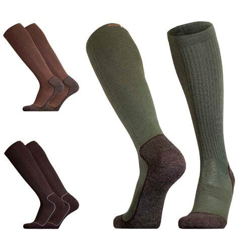 LOGO_UphillSport Aarea Hunting & Fishing 4-layer Active Fit M5 Sock with Merino