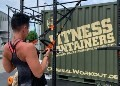 LOGO_MILITARY FITNESS CONTAINER