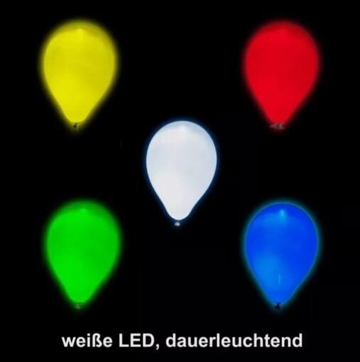 LOGO_TacBalloon - Ballon mit weißer LED (dauerleuchtend)