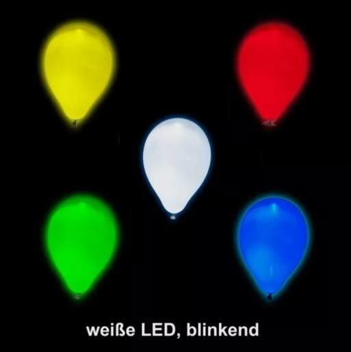 LOGO_TacBalloon - Ballon mit weißer LED (blinkend)