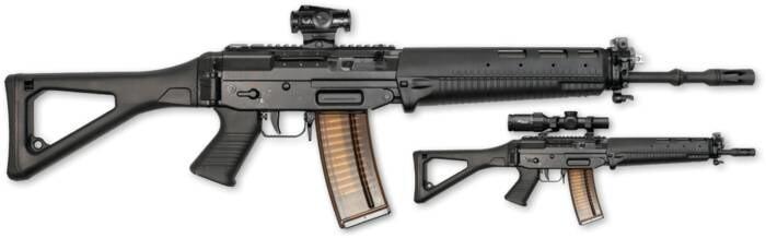 LOGO_SG 551 / SWAT