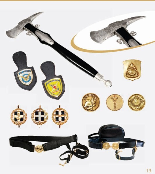 LOGO_Leather Belts and Badges