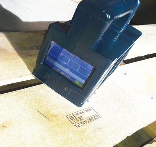 LOGO_Famjet Handcodierer mit 25 mm Collins Kartusche - Doppelter Druckbereich