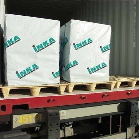 LOGO_Container optimal beladen: Inka-Paletten im Container- und Industrieformat