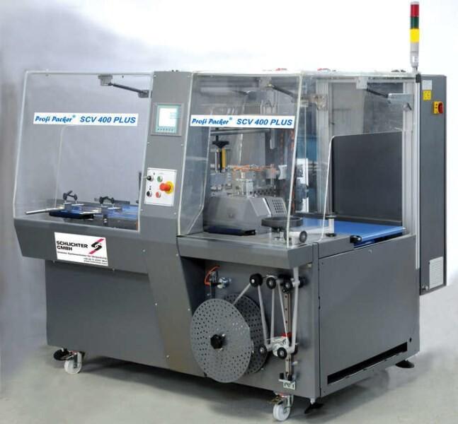 LOGO_Schrumpffolienmaschine Halb- und Vollautomatisch, Profi Packer® SCV 400, SCV 800 und SCV 1100 / SCV 400 Motion