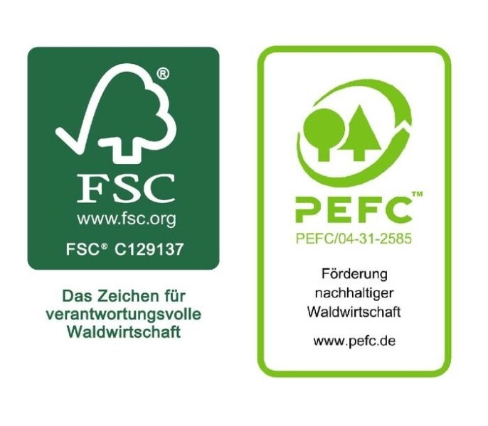 LOGO_FSC® or PEFC™ certified packaging papers