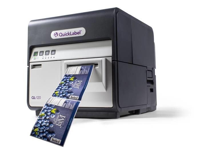 LOGO_NEU – Der digitale Inkjet-Etikettendrucker Kiaro! QL-120 – schnelle Druckgeschwindigkeit und vielseitig einsetzbar