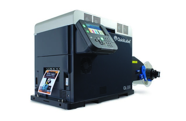LOGO_QL-300 - Tonerbasierter digitaler Etikettendrucker