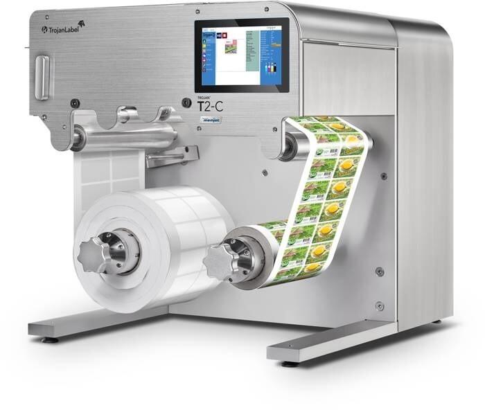 LOGO_NEU - Professionelles digitales Inkjet-Drucksystem, T2-C Tischdrucker mit voller Kapazität