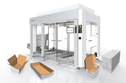 LOGO_A preconfigured case packer to meet individual requirements