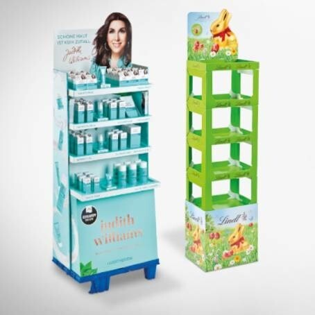 LOGO_POS displays showcase your product in the best light