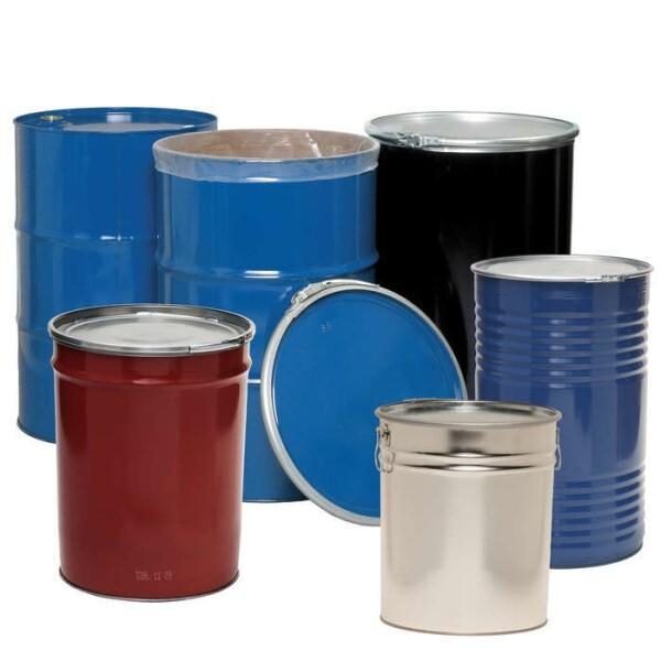 LOGO_Metal drums, steel and tinplate 6- 200 L