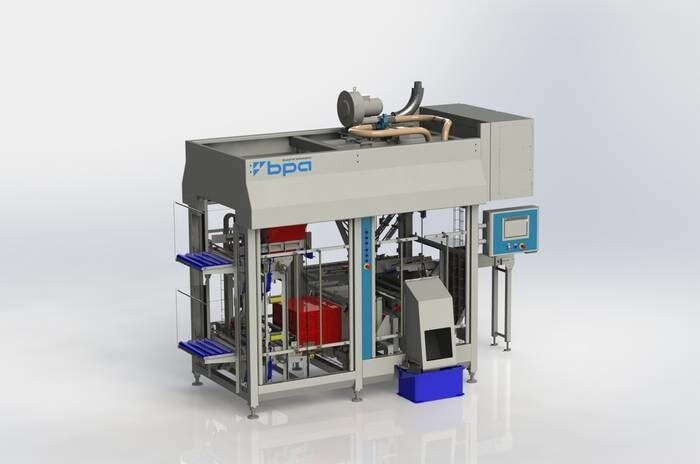 LOGO_SPIDER 200 - modular case packer for automatic forming, loading and closing of cases