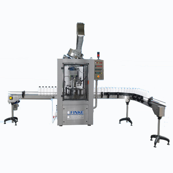 LOGO_Fully automatic capping machine with automatic cap feeding
