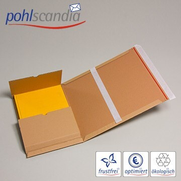 LOGO_VARIA T-PACK - Universal-Versandverpackung mit doppelter Selbstklebung