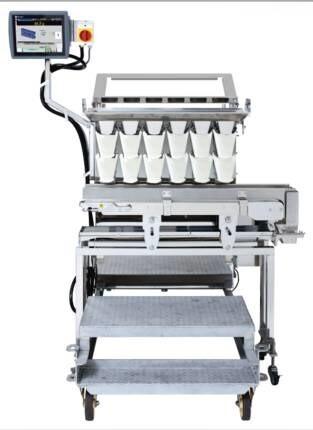 LOGO_Lineare Mehrkopfwaage für klebrige und zerbrechliche Produkte