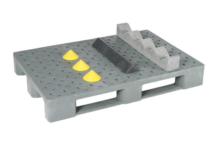 LOGO_Kunststoffpaletten und – Auflagen mit Keil- oder Prismenfixierung