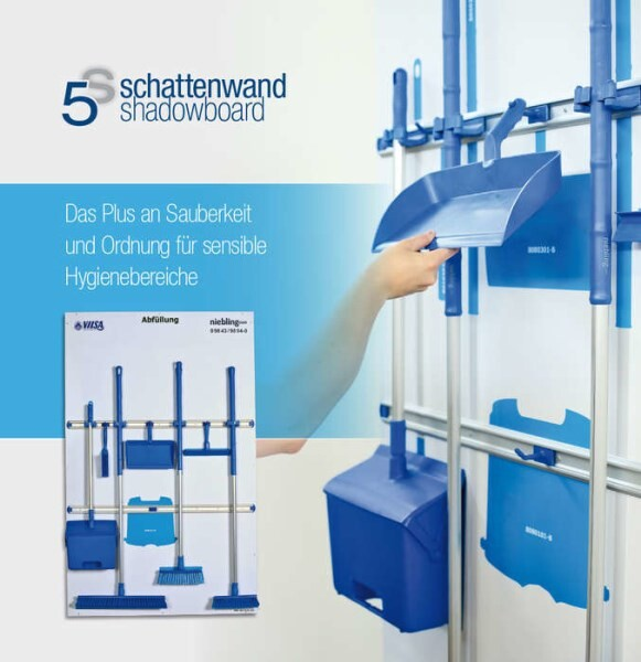 LOGO_5S Shadowboard: Benefit from extra cleanliness and order in sensitive hygienic zones