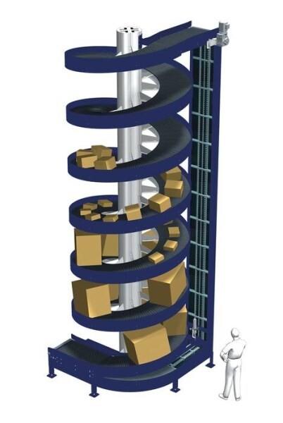 LOGO_The Wide Trak Spiral Conveyor. Big loads? No Problem!